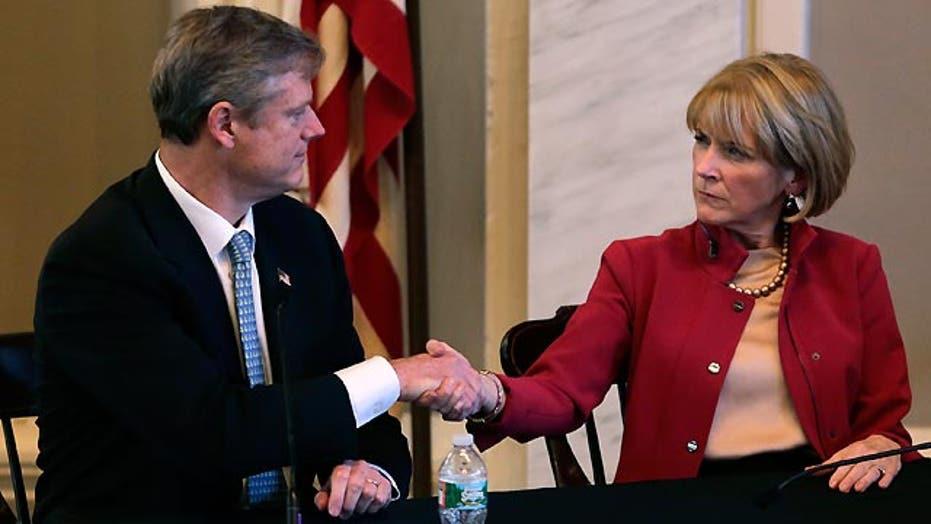 Gubernatorial race in Massachusetts raising eyebrows