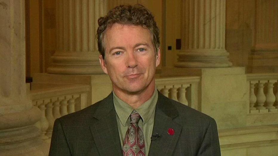 Sen. Paul: Washington 'playing games' by threatening default