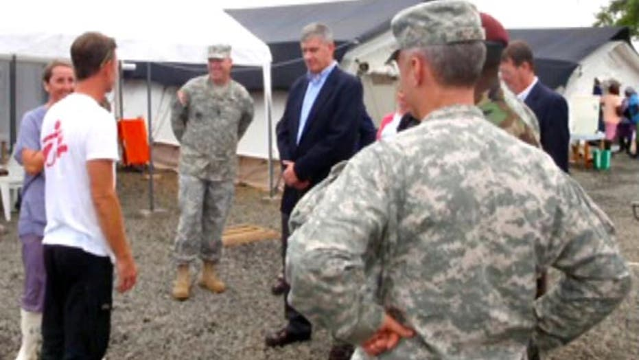 Pentagon launches operation to combat Ebola in Liberia