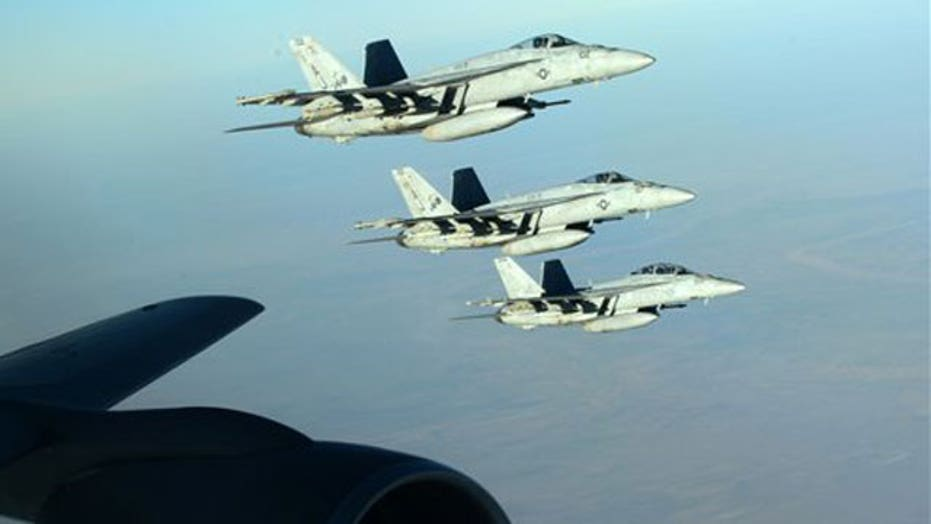 Coalition steps up airstrikes as ISIS advances on Kobani