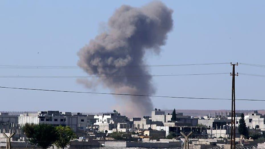 Kurdish forces struggling to drive ISIS out of Kobani