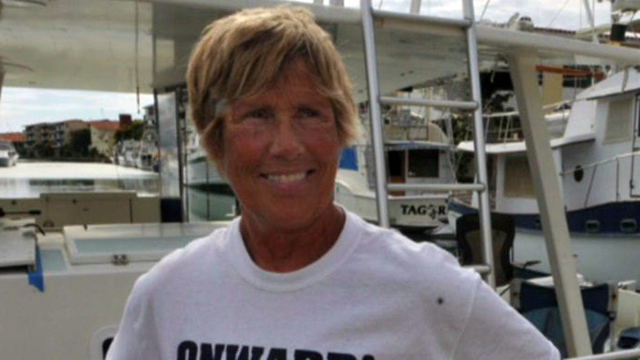 Diana Nyad attempts two-day swim to benefit Sandy victims