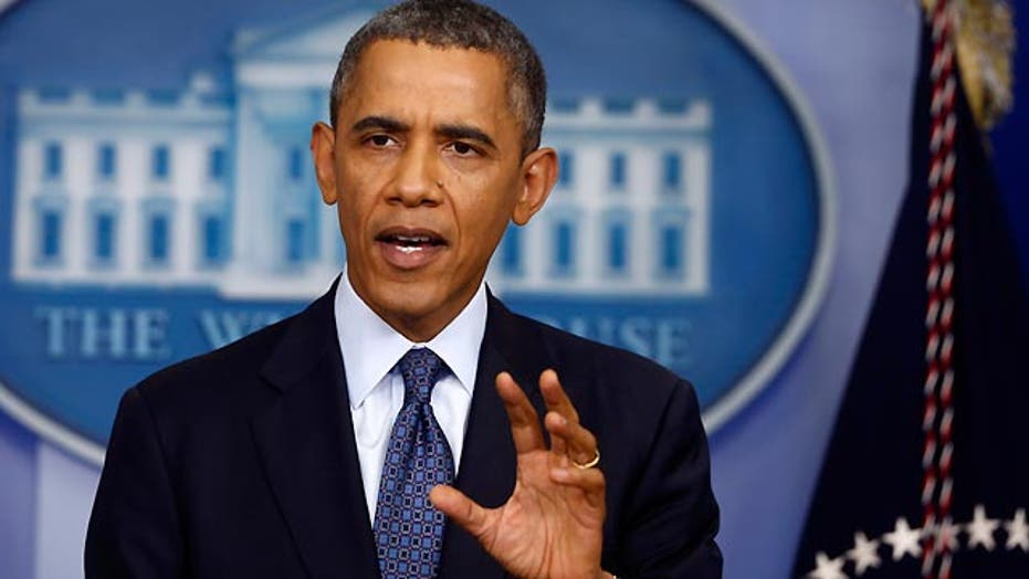 What is Obama's strategy in debt ceiling conflict?