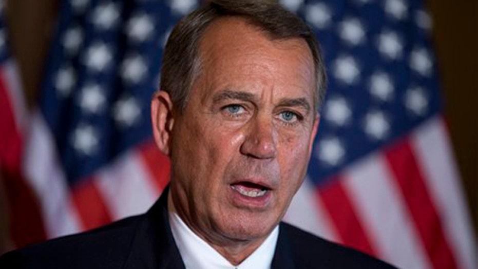 Boehner: The president refuses to negotiate