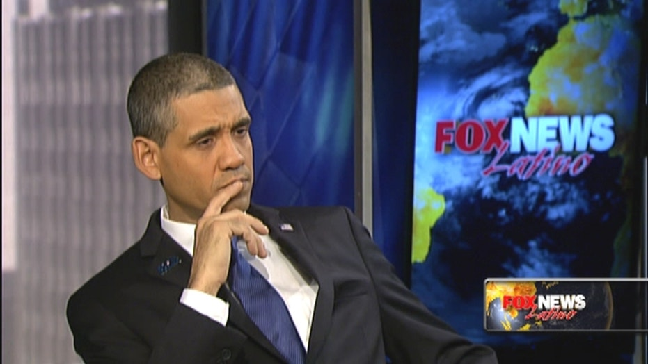 Meet 'Bronx Obama' - the presidential impersonator