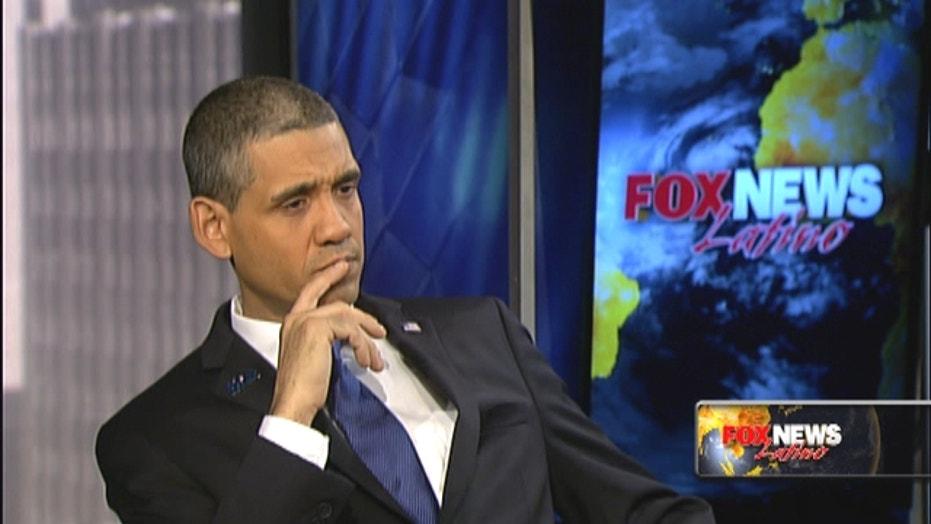 Meet 'Bronx Obama' - the presidential impersonator