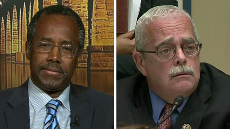 Dr. Ben Carson discusses ridicule amid IRS hearing