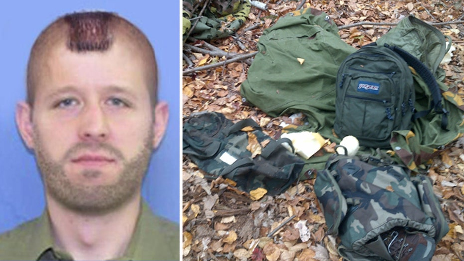 'Chilling' notes found in search for suspected cop killer