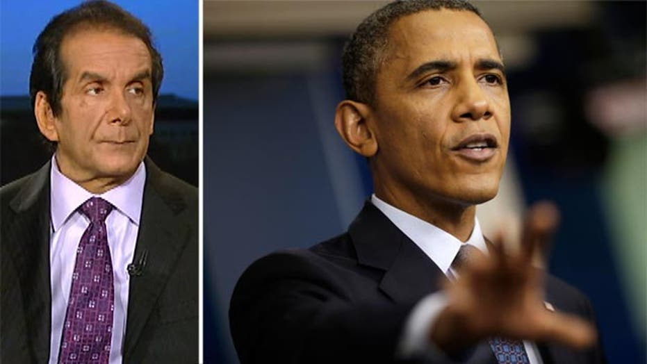 """Krauthammer: Obama """"bait and switch"""" on GOP compromise"""