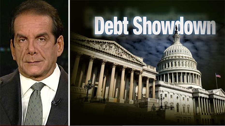 Krauthammer: Debt ceiling is 'trump card'