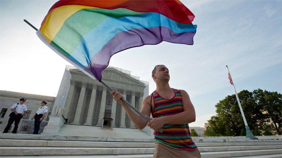 Same-sex marriage becoming the law of the land?