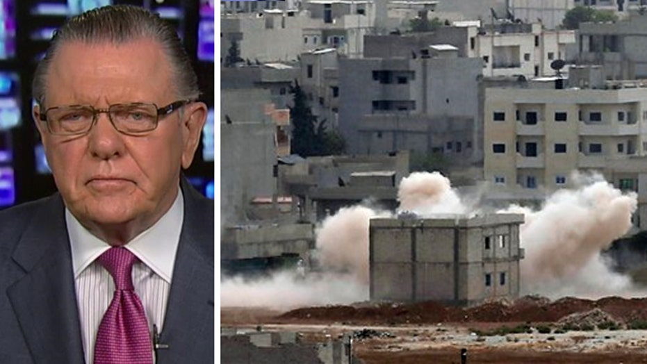 Gen. Keane: Battle for Kobani shows flaws of US strategy