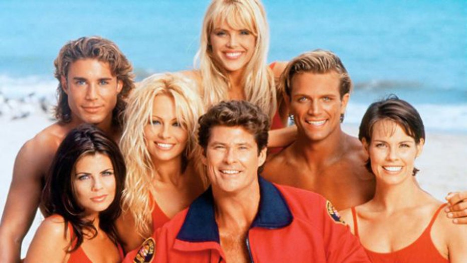 'Baywatch' Then & Now