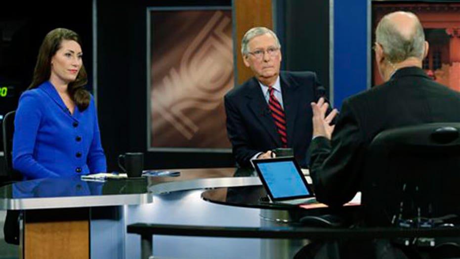 Kentucky Senate candidates square off in televised debate
