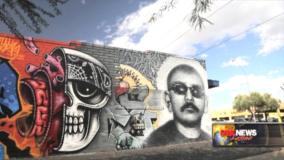 AZ's Immigration Debate Played Out On Phoenix's Walls