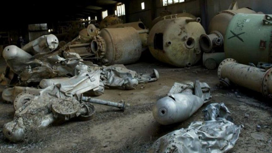 Pentagon reportedly held info on chemical weapons in Iraq