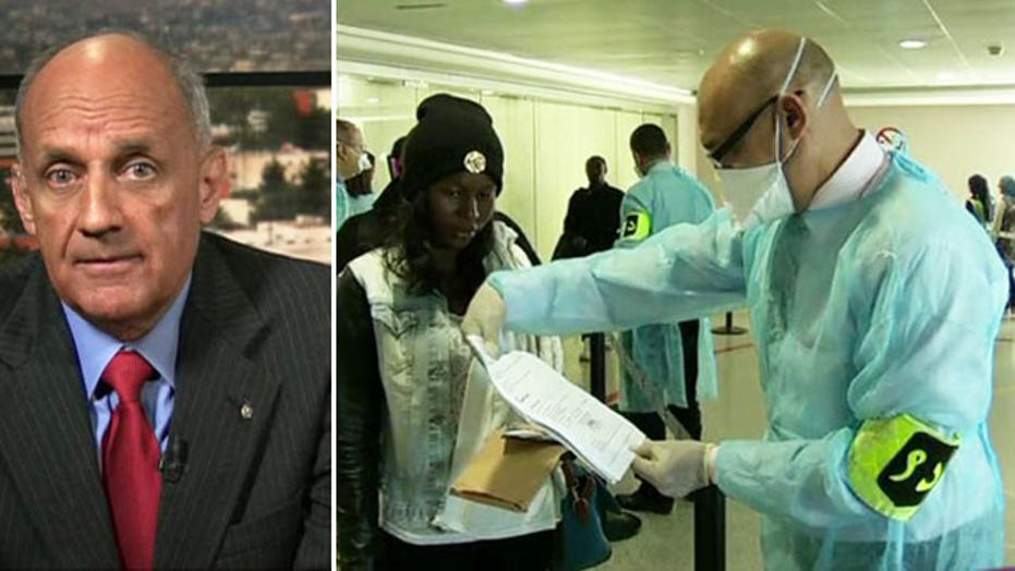 Former US surgeon general 'very concerned' by Ebola