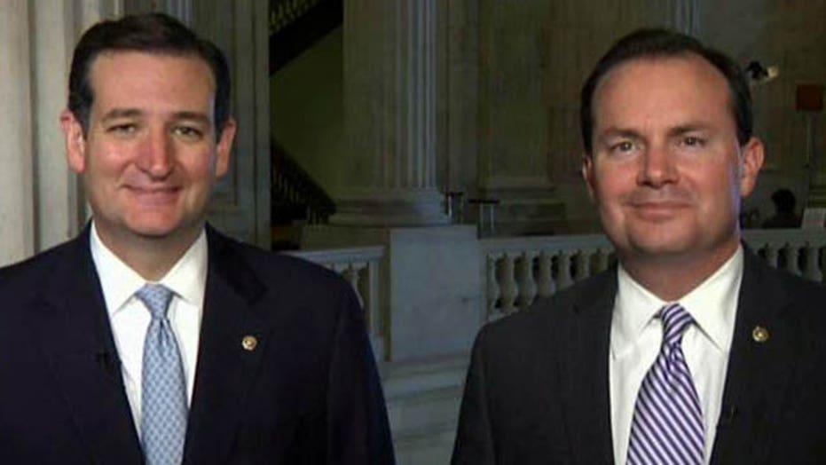 Exclusive: Sens. Cruz, Lee on 'lousy' Senate plan