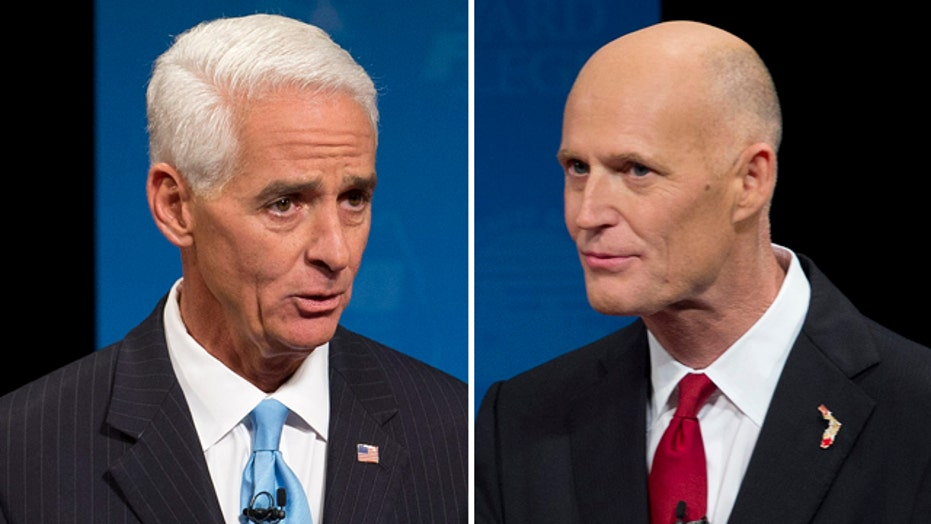 Fan flap: Gov. Scott almost refuses to debate Charlie Crist