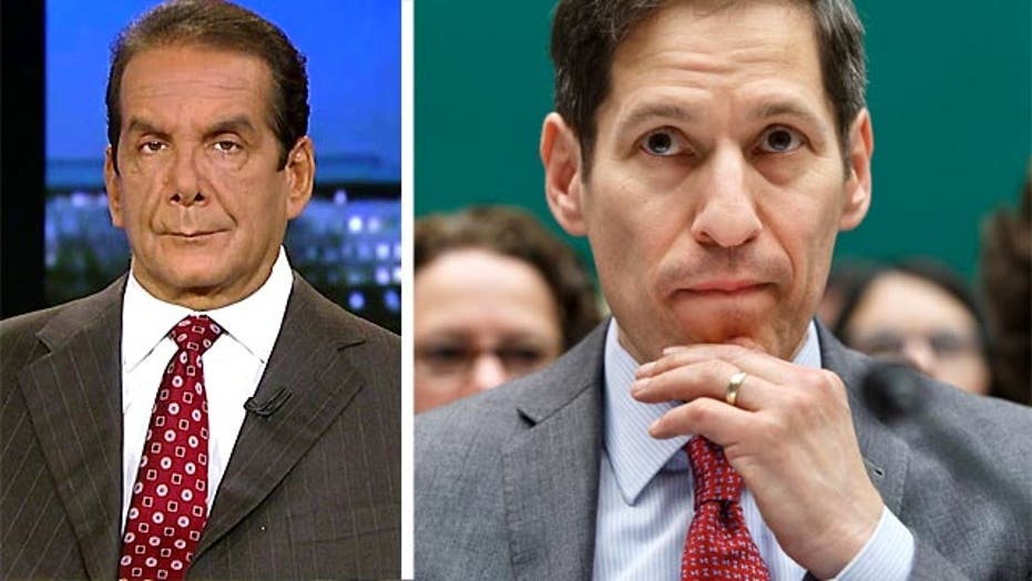 Krauthammer: White House administration