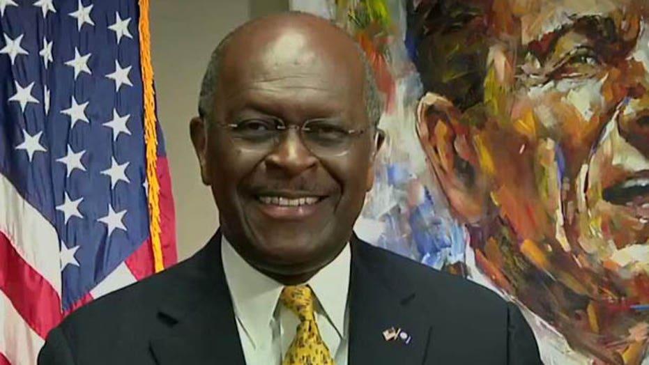 Herman Cain predicts 'drop dead' financial crisis