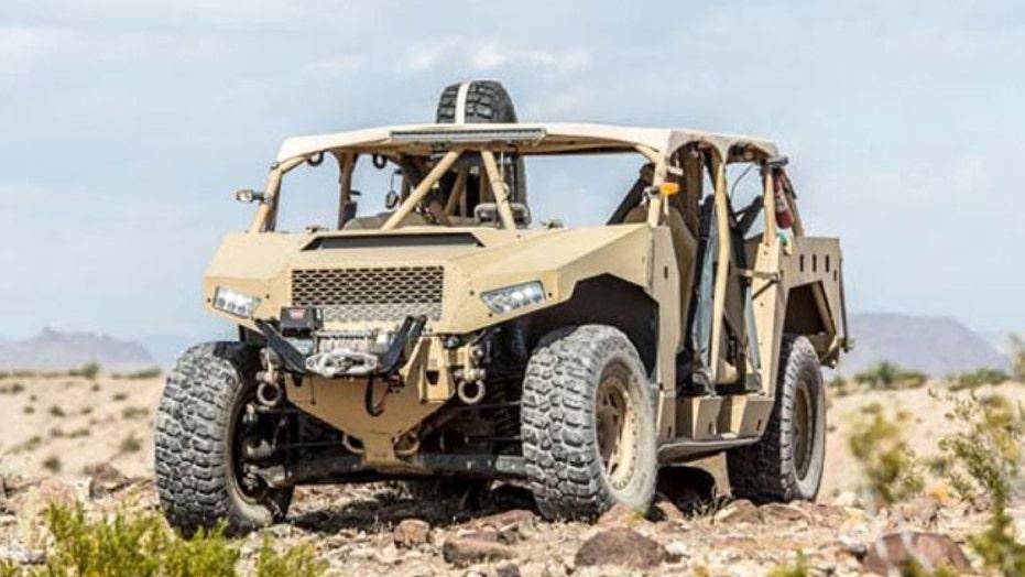 Next-generation vehicles unveiled at AUSA | Fox News