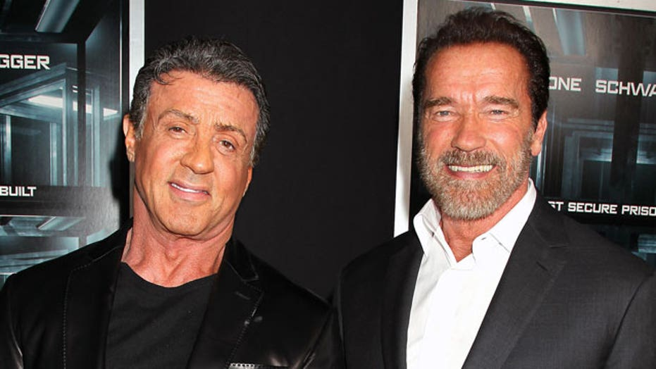 Stallone, Schwarzenegger reflect on action genre