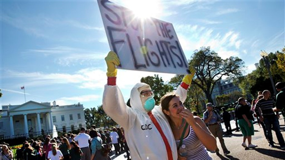 Poll: Americans want travel ban for Ebola-affected countries