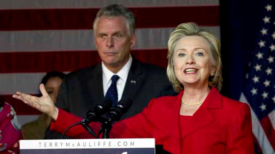 Clinton endorses Dem candidate for VA governor