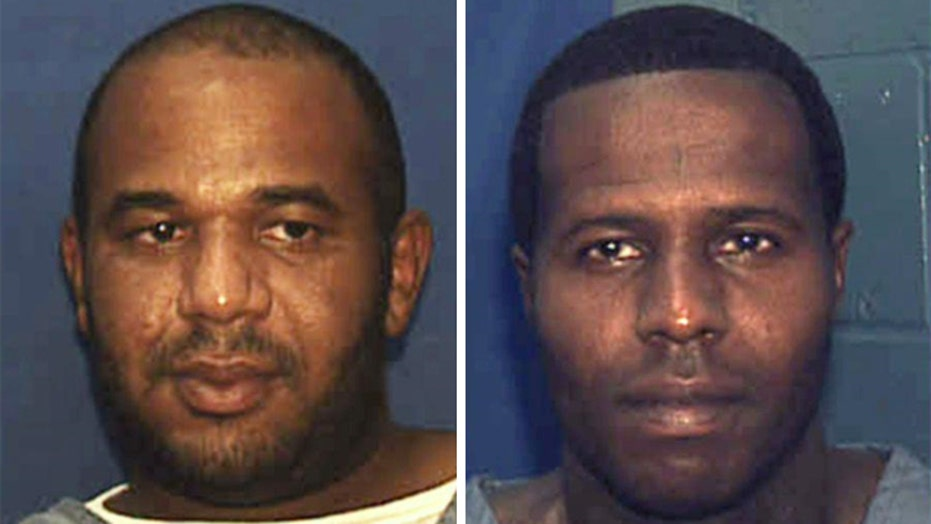 Escaped Florida inmates back behind bars