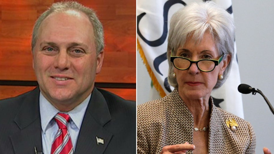 Scalise: ObamaCare rollout is a 'national embarrassment'