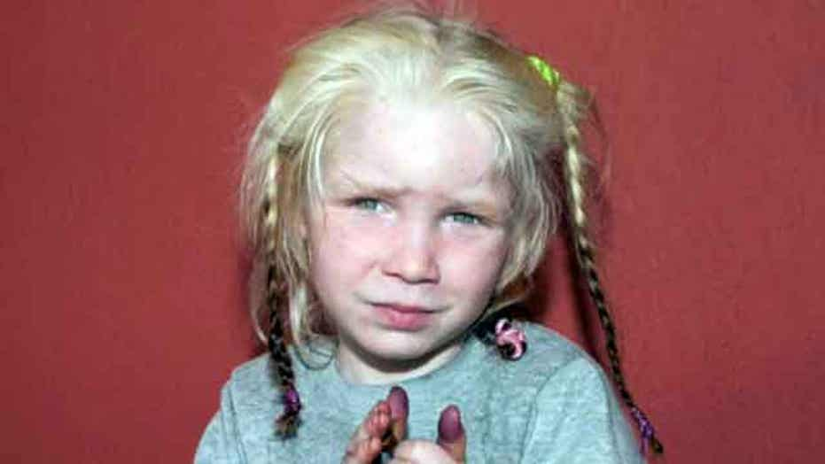 Girl found in Gypsy camp sparks child trafficking worries