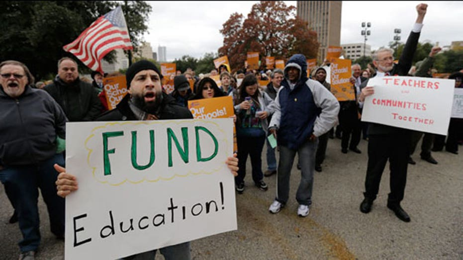 Teachers' unions to spend record amount on midterm elections