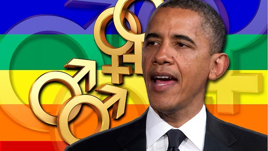 The president's evolution on same-sex marriage