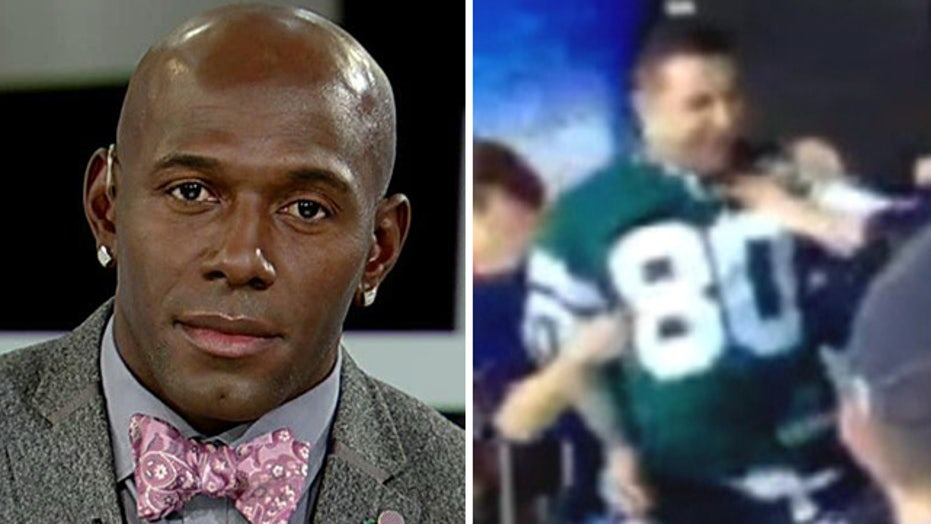 Jets fan who punched woman is a convicted killer