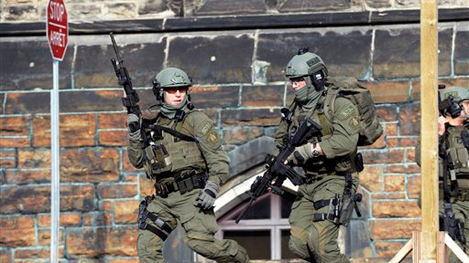 One alleged gunman killed after shooting in Ottawa