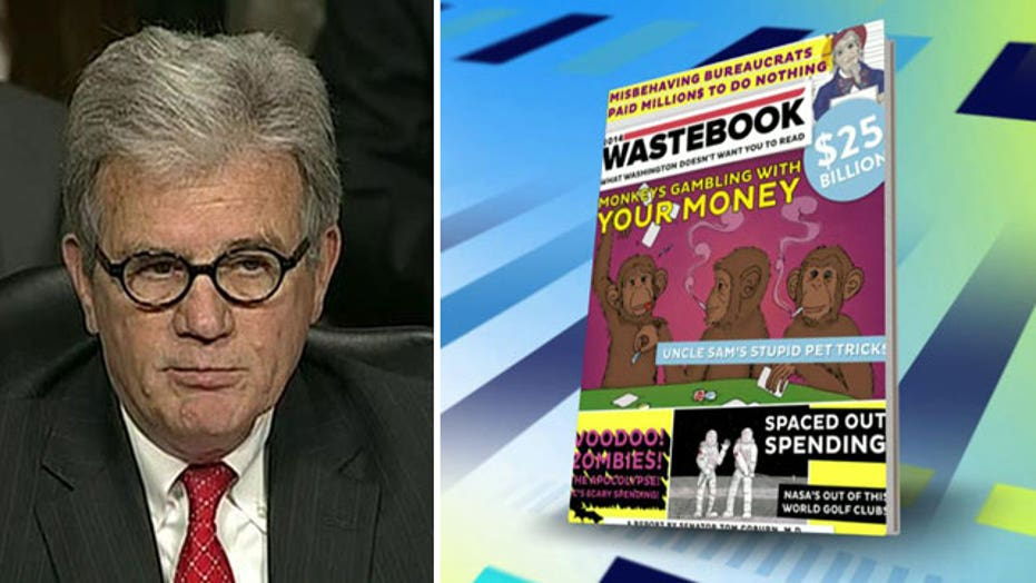 Senator Tom Coburn releases new government waste report