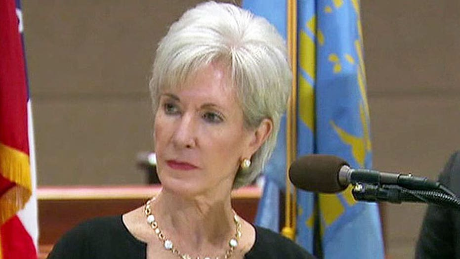 Is the White House throwing Sebelius under the bus?