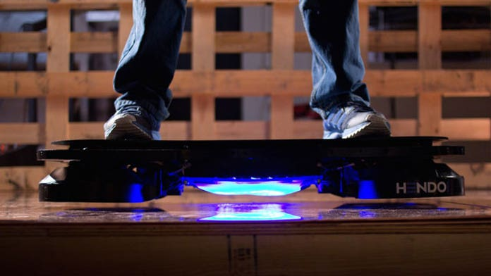 Marty McFly's hoverboard is finally real, and it's on Kickstarter right now