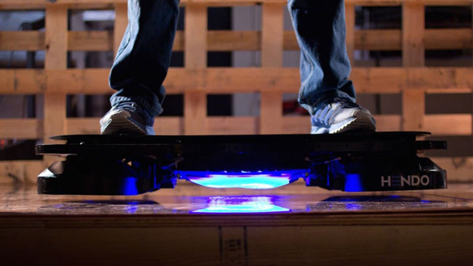 Husband-wife team makes Marty McFly's hoverboard a reality
