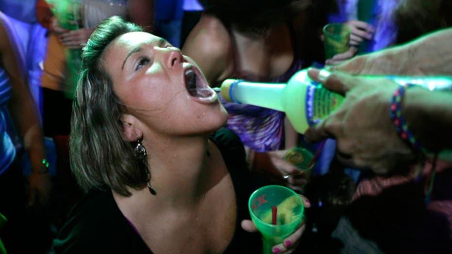 Youth alcoholism on the rise in US