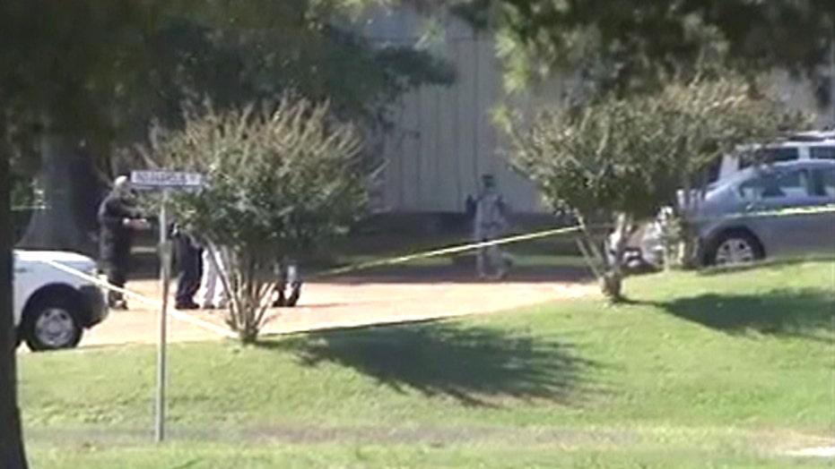 Navy: Two soldiers shot, suspect in custody