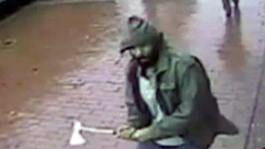NYC police: Hatchet attacker served in Navy
