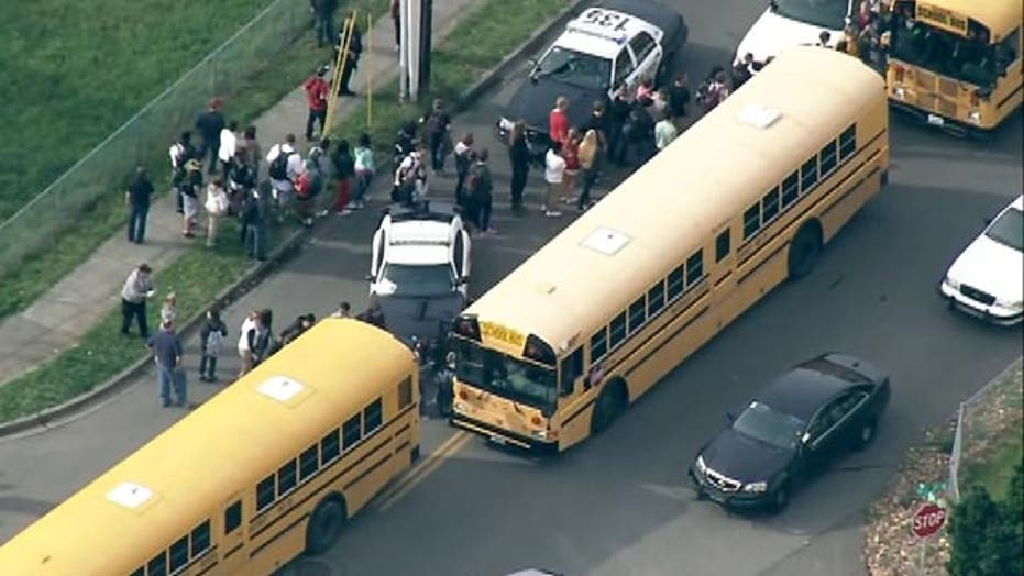 Freshman student recounts school shooting in Washington