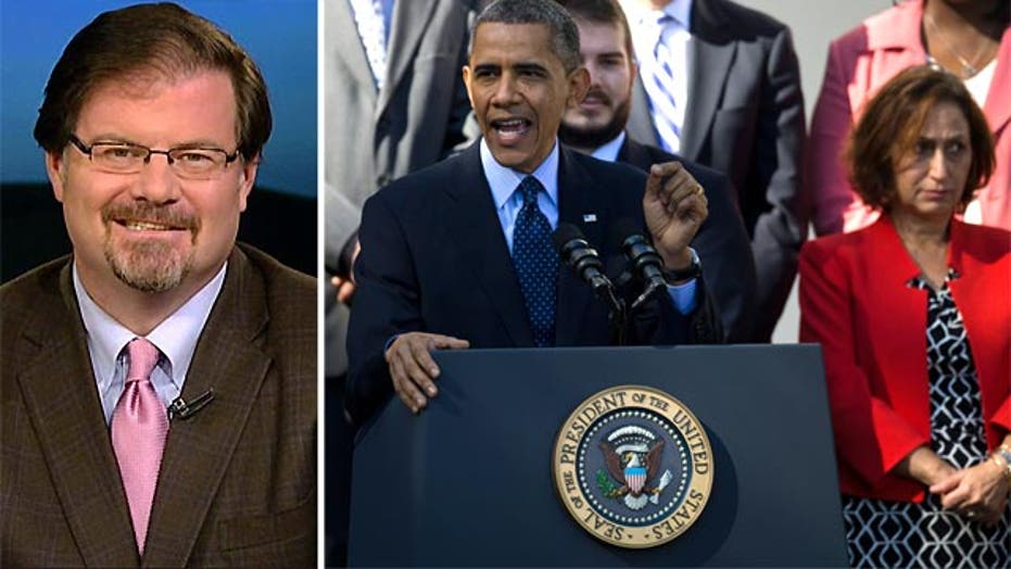 Jonah Goldberg: Obama on Obamacare