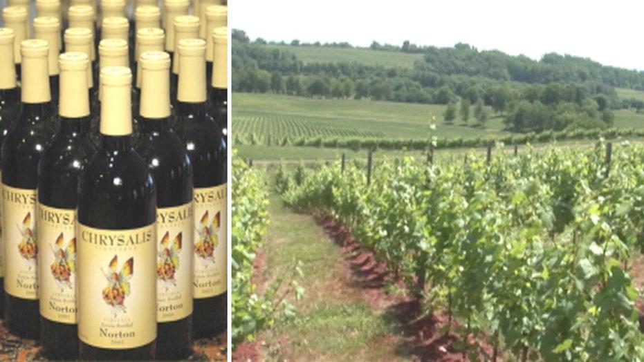 October is Virginia Wine month