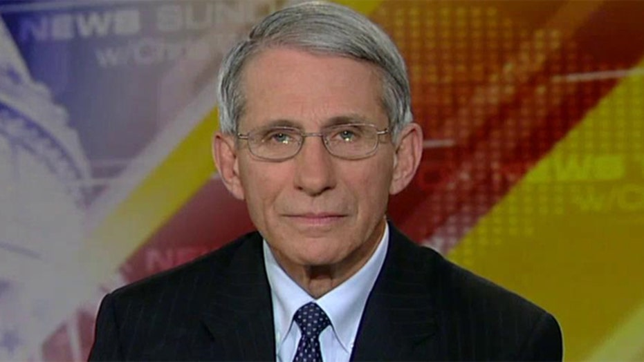 Dr. Anthony Fauci updates fight against Ebola in America