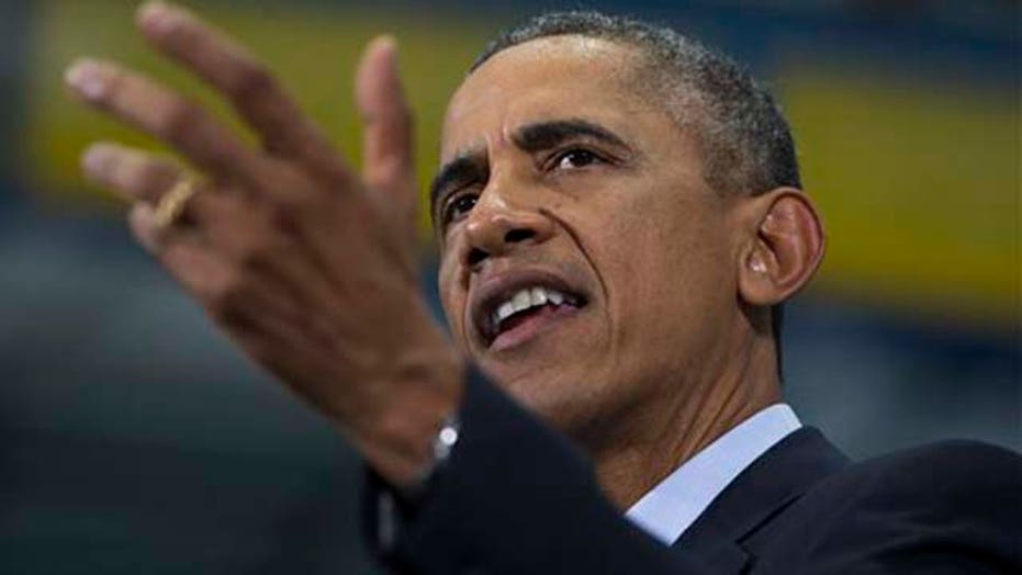 Are President Obama's policies on the midterm ballot?