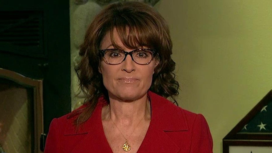 Palin: Obama's incompetence shining through in Ebola crisis