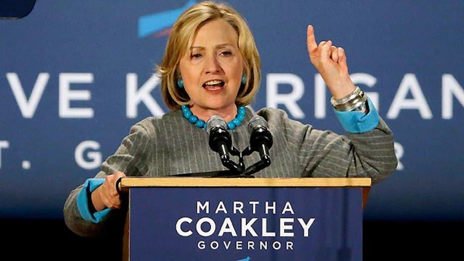 Clinton clarifies comment on job creation